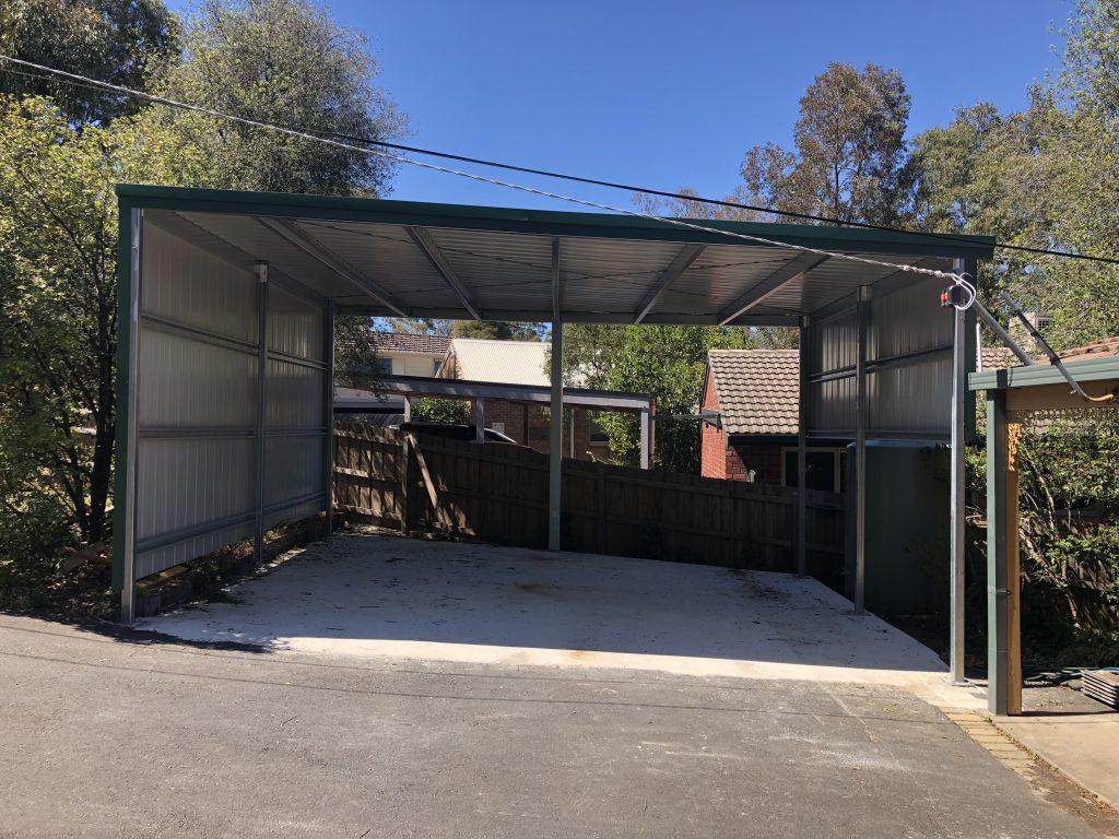 Blatchford carport
