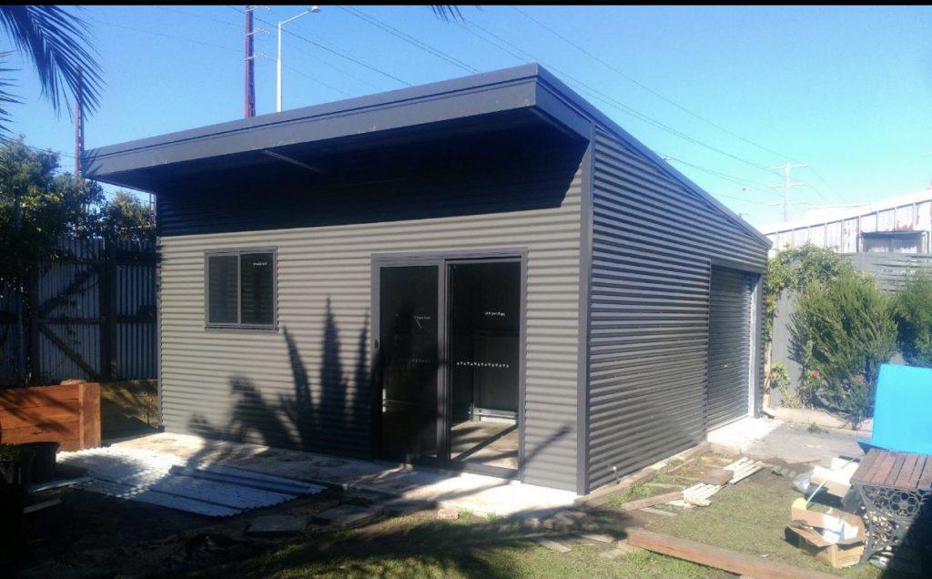 Granger skillion roof shed